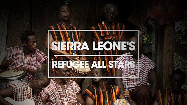 Sierra Leone's Refugee All Stars music for Rototom Sunsplash 2015