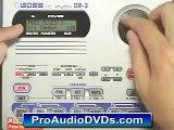 Roland (Boss) DR-3 DVD Video Tutorial Demo Review Help