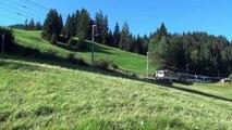MOB Montreux-Oberland-Bernois : Locomotives série GDe 4/4 6000  (Vers.2013)
