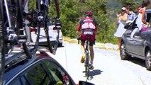 Tour de France : Tejay van Garderen, 3e au classement, en larmes après son abandon