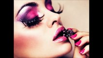 Latest Makeup For Eyes, Lips and Nails