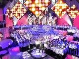 Johnny Hallyday & Patrick Fiori Vivre pour le meilleur 500 Choristes 07 01 2006