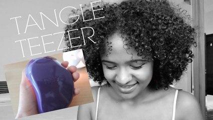 Tangle Teezer on Curly 3C Hair
