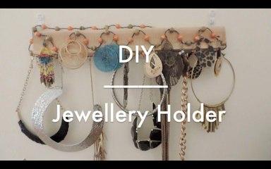 DIY | Jewellry Holder / Display