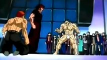 The demon vs the brawler anime fight