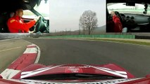 Alfa Romeo 4C - On Board Camera - Varano de' Melegari