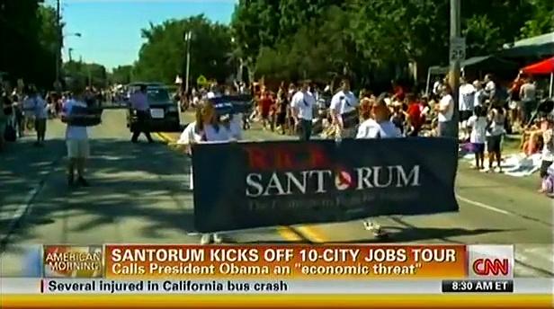 CNN's Ali Velshi owns Rick Santorum!  280,000,000 jobs – 40,000,000 jobs = LESS THAN 0 JOBS?!