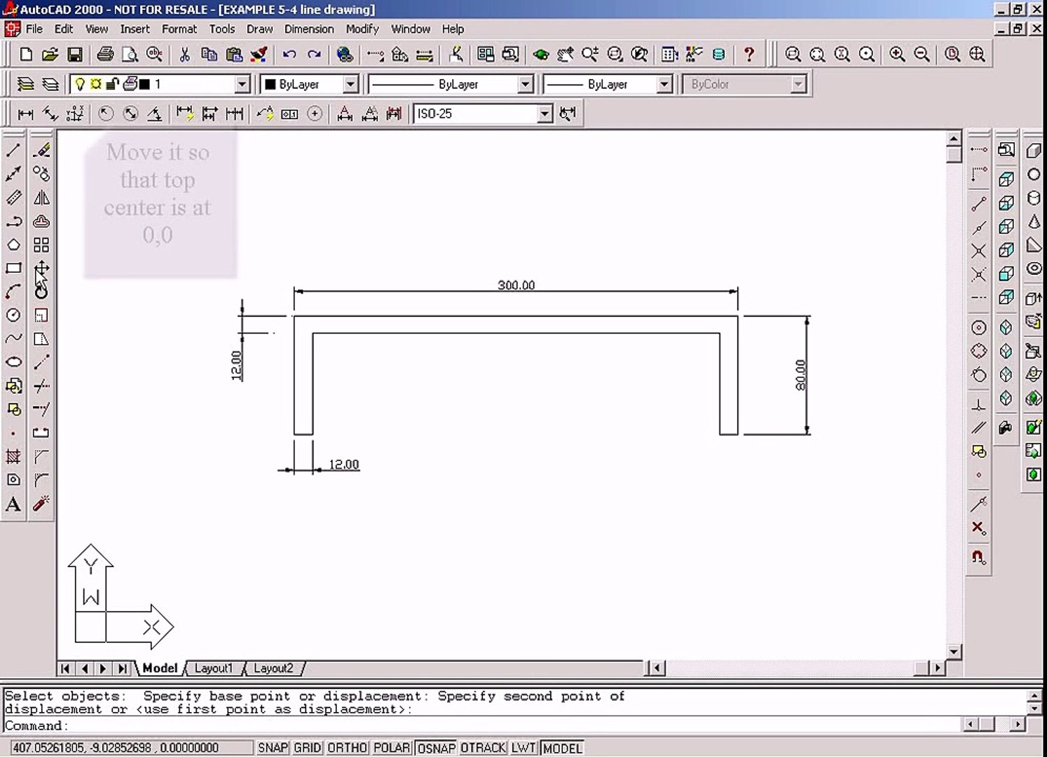 Moment of Inertia by AutoCAD