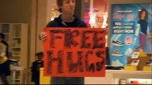 Free Hugs Vs. Premium Hugs & Haiti Relief Hugs