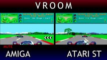 Amiga V Atari ST - Vroom