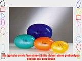 Original PEZZI Eggball Standard 65 cm gr?n Sitzball Gymnastickball Pezziball