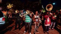 New Orleans Brass Band on Frenchmen Street