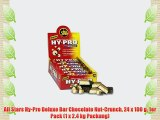 All Stars Hy-Pro Deluxe Bar Chocolate Nut-Crunch 24 x 100 g 1er Pack (1 x 2.4 kg Packung)