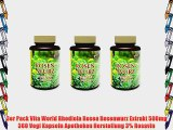 3er Pack Vita World Rhodiola Rosea Rosenwurz Extrakt 500mg 360 Vegi Kapseln Apotheken Herstellung