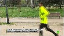 Kilómetros por un empleo. Contratado el joven que corría un kilómetro diario en busca de un empleo