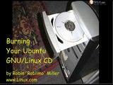 Video 2 - Burning Ubuntu GNU Linux Live ISO to CD - Training