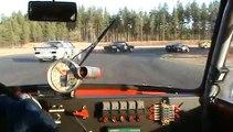 Sunbeam Imp Aluekuppi Alastaro 5.5.08 In-car lähtö 2