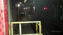 Inside A NYC Subway Tunnel - Train Tunnels New York City