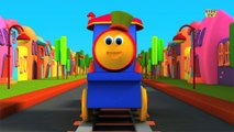 Bob, The Train - Learn Colors Song With Bob   Colors Song   Adventure with Colors   Colors Ride