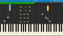The Weeknd Earned It Piano Tutorial Synthesia 50 Shades Of Grey Soundtrack