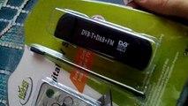 RTL R820T SDR DVB-T+DAB+FM Dongle Unboxing -English HD