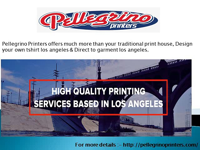 High Quality Printing Services based in Los Angeles