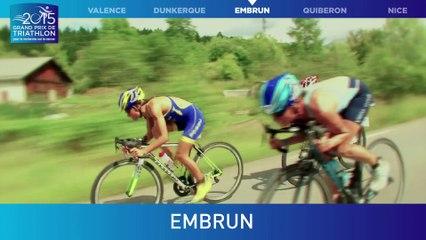 #GPFFTRI 2015 - 3e étape du Grand Prix de Triathlon pour la rechercher sur le cancer - Embrun - 13 aout 2015