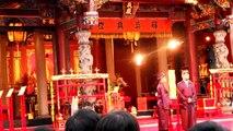 Taipei Confucius Temple - the begining of ceremony