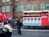 LINKE-WASG-Block gegen G8 am 2.Juni 2007 in Rostock