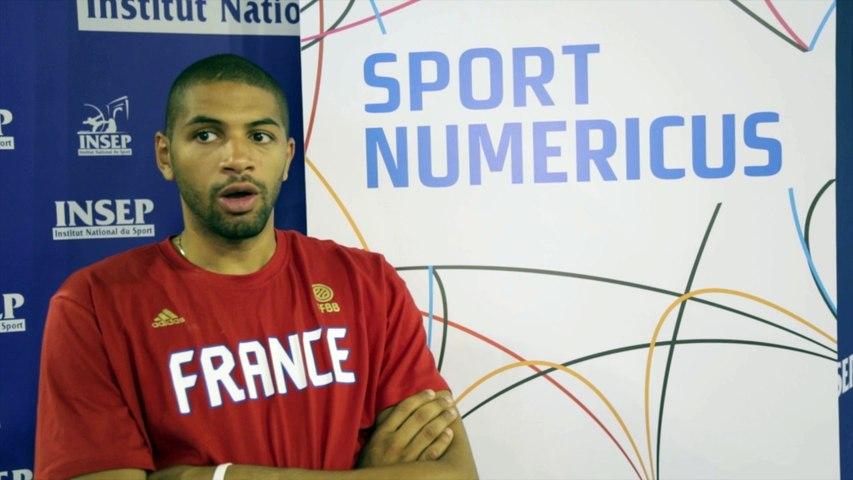 Interview de Nicolas Batum, Sportif Numérique 2015 @SportNumericus