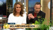 """Miss i kampanjen: """"Gonorré för Sverige"""" - Nyhetsmorgon (TV4)"""