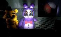 [FNAF SFM] FNAF 4 Trailer _ Golden Freddy and Withered Bonnie React!