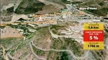 Cyclisme - Tour de France - 20e étape : En reconnaissance dans l'Alpe d'Huez