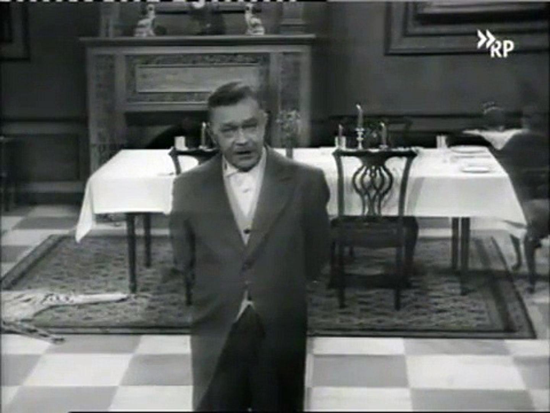 Amanda Lear Deutsch dinner for one - 1963 original german version - vger + veng - black and  white