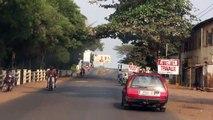 De Lomé (Togo) em direcção a Benin