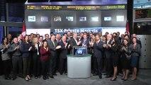 TSX Private Markets opens Toronto Stock Exchange, November 14, 2014.