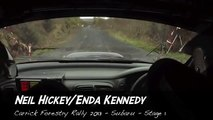 Subtitled version of Neil Hickey & Enda Kennedy - Funny Irish Rally Video!
