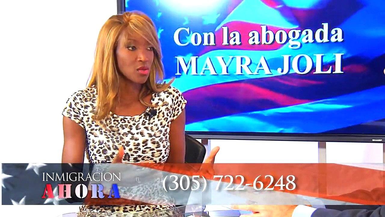 Abograda De Inmigracion Mayra Joli Tipos De Visas Para Inmigrantes Video Dailymotion