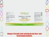 Omega 3 Super 1000 mg (inkl. Fetts?uren EPA 300 mg DHA 200 mg) - 240 Kapseln - f?r mehr Vitalit?t
