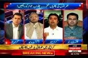 EXPRESS Takrar Imran Khan with MQM Asif Hasnain (22 July 2015)