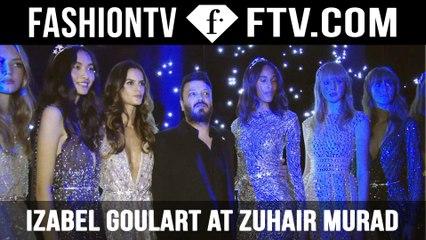 Izabel Goulart at Zuhair Murad | Paris Haute Couture Fall/Winter 2015/16 | FashionTV