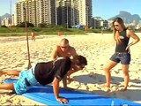 Georges St-Pierre surfing challenge by Paula Sack