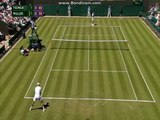 Tennis Great Britain Grand Slaam Wimbledon Men Grass Jo-Wilfried Tsonga vs Gilles Muller 2015