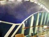 Cruise ship feels POwer of Hurricane IKE