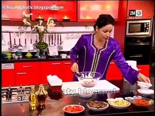 Choumicha - Recette Gratin au légumes et salade