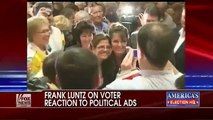 Frank Luntz on voter reaction to political ads campaign Fox News Doug Turner Governor New Mexico Ad