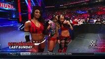 Naomi And Sasha Banks Vs The Bella Twins