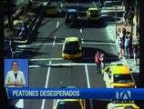 Los peatones imprudentes pueden generar graves accidentes de tránsito