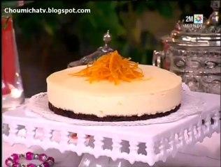 Gâteau aux bavarois et biscuit dacquoise