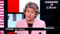 "Irina Bokova: ""Nous avons beaucoup progressé avec les Etats-Unis"""